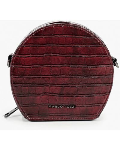 Красная сумка через плечо из искусственной кожи Marco Tozzi