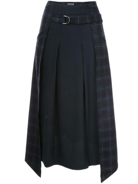 Spódnica asymetryczny niebieska Lorena Antoniazzi