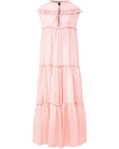 Платье розовое шелковое Natayakim