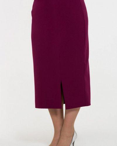 Фиолетовая юбка осенняя Intikoma