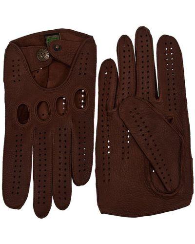 Кожаные перчатки коричневый Alpa Gloves