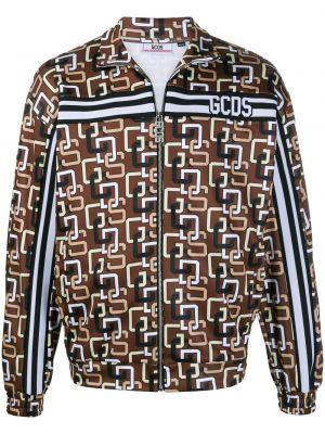 Длинная куртка - коричневая Gcds