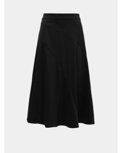 Czarna spódnica maxi materiałowa Vero Moda