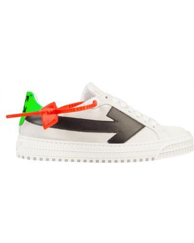 Кроссовки низкие на шнуровке Off-white