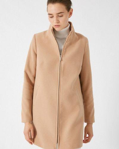 Бежевое пальто Koton