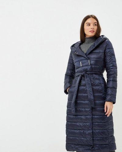 Зимняя куртка осенняя синий Modis