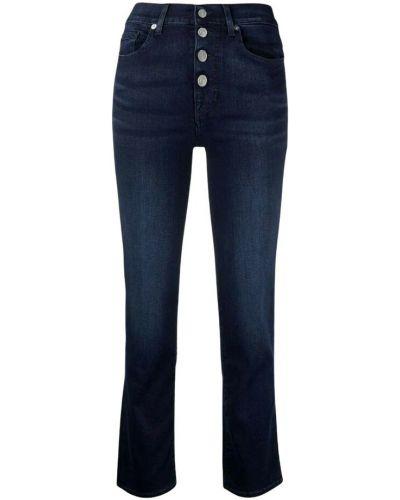 Mom jeans - niebieskie 7 For All Mankind