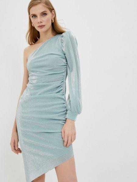 Вечернее платье бирюзовый весеннее Trendyol