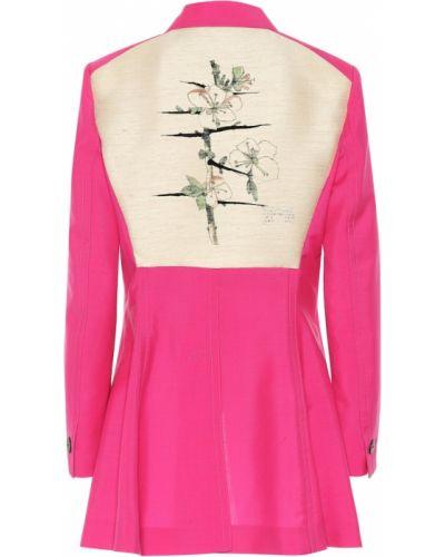 Розовый пиджак Loewe