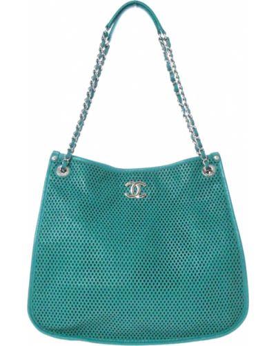 Zielona torebka Chanel Vintage