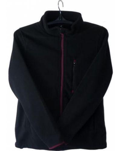Флисовая черная блузка Neo