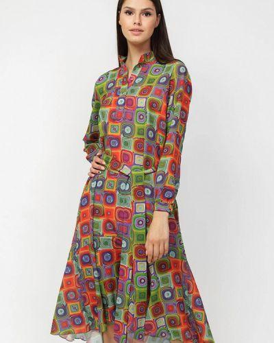 Прямое платье А-силуэта Dasti