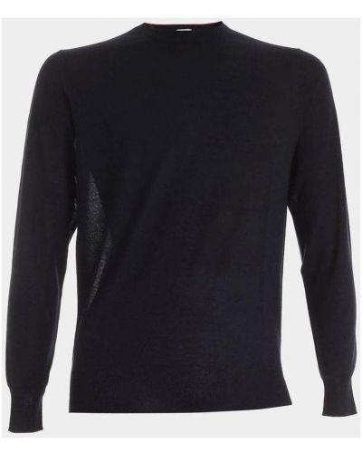 Czarny pulower wełniany Aspesi