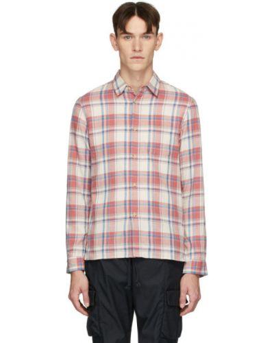 Bawełna bawełna z rękawami koszula z mankietami John Elliott