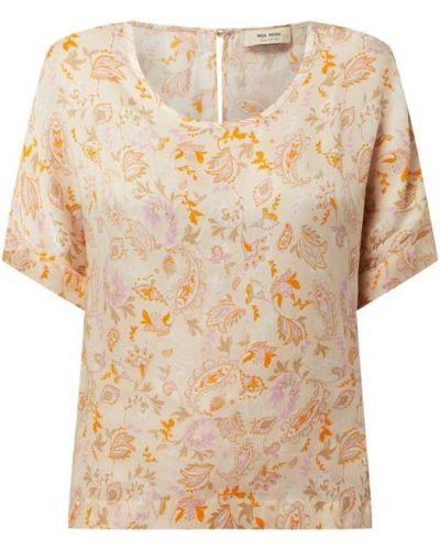 Bluzka krótki rękaw - pomarańczowa Mos Mosh