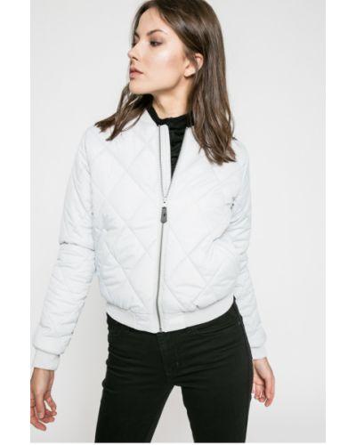 Утепленная куртка с карманами серая Sublevel