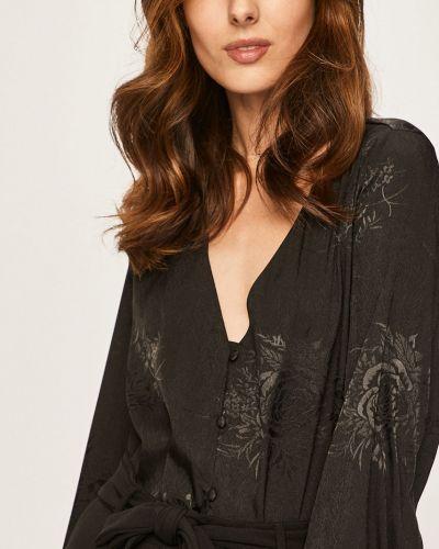 Блузка однотонная из вискозы Answear