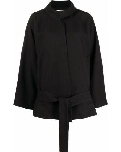Длинная куртка - черная Lemaire