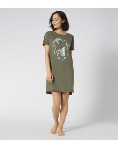Koszula nocna - zielona Triumph