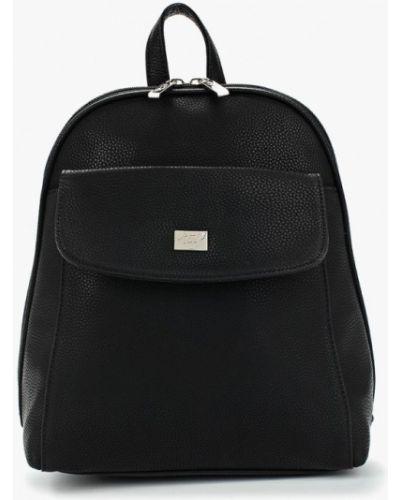Рюкзак черный из искусственной кожи Jane's Story
