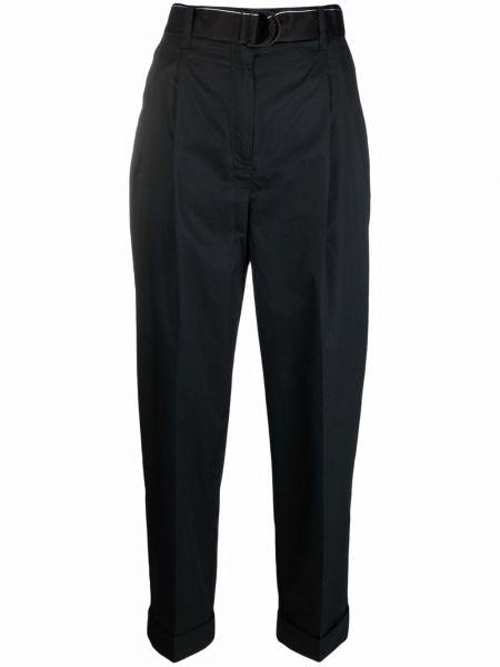 Черные укороченные брюки Calvin Klein