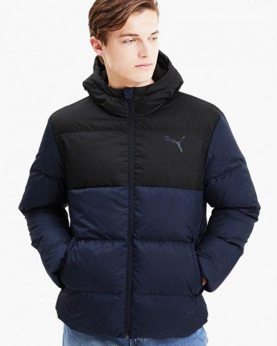 Теплая синяя куртка Puma