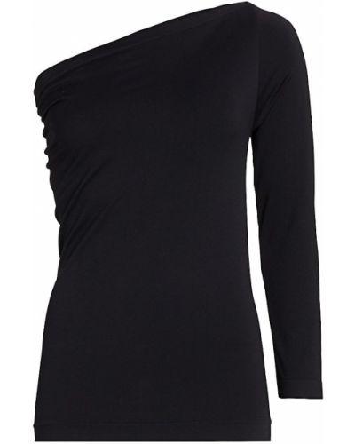 Koszulka z długimi rękawami - czarna Helmut Lang