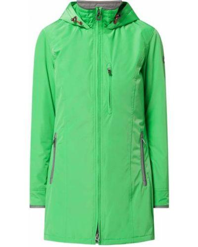 Zielona kurtka z kapturem Wellensteyn