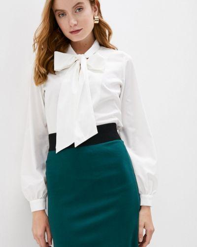 С рукавами белая блузка Lamiavita