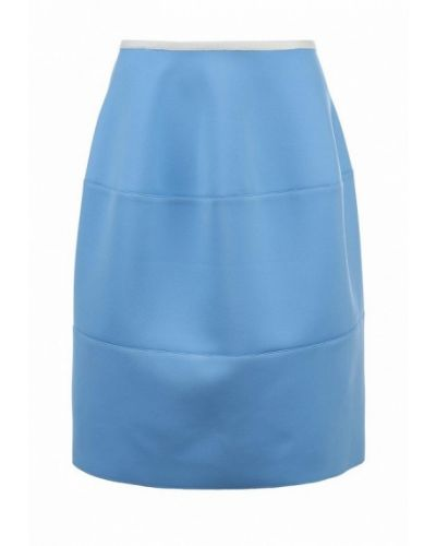 Синяя юбка широкая Jil Sander Navy