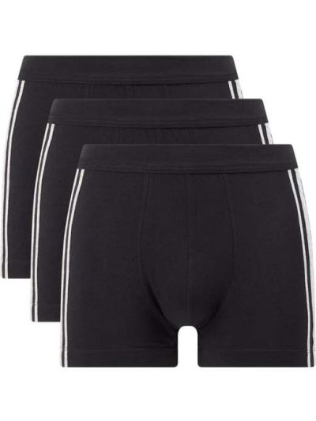 Czarne majtki bawełniane Schiesser