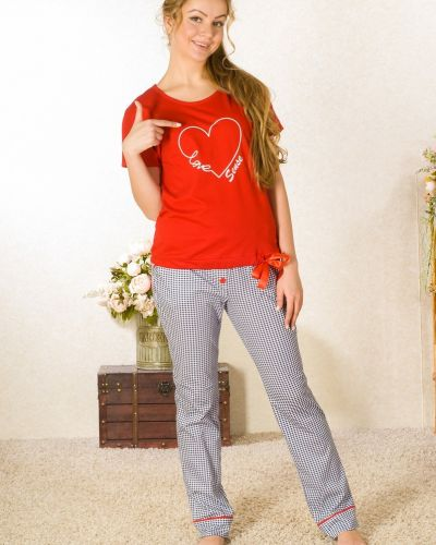 Свободная футболка свободного кроя Lena Basco