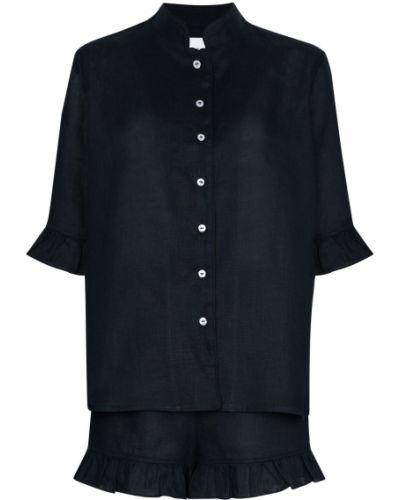 Niebieska piżama krótki rękaw Sleeper