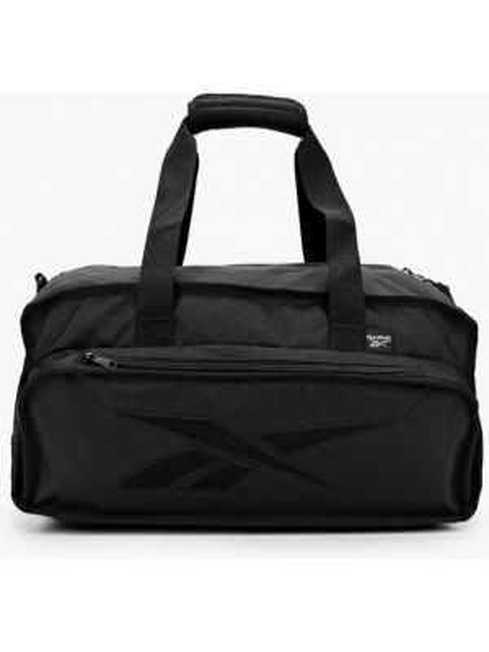 Черная спортивная сумка с низкой посадкой Reebok