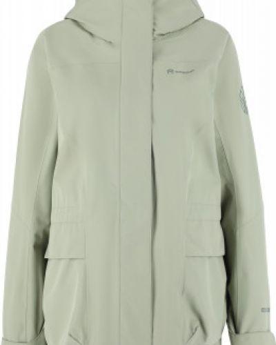 Зеленая куртка мембранная на молнии Outventure