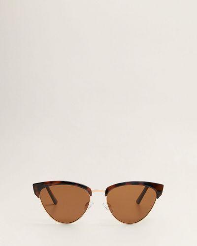 Солнцезащитные очки кошачий глаз коричневый Mango
