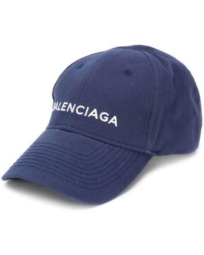 Бейсболка с вышивкой с логотипом Balenciaga