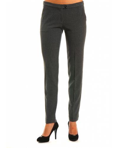 Серые брюки из вискозы Armani Jeans