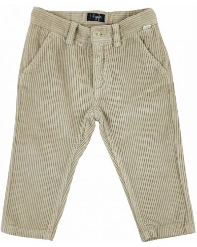 Beżowe spodnie Il Gufo