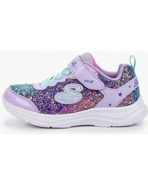 Фиолетовые кроссовки Skechers