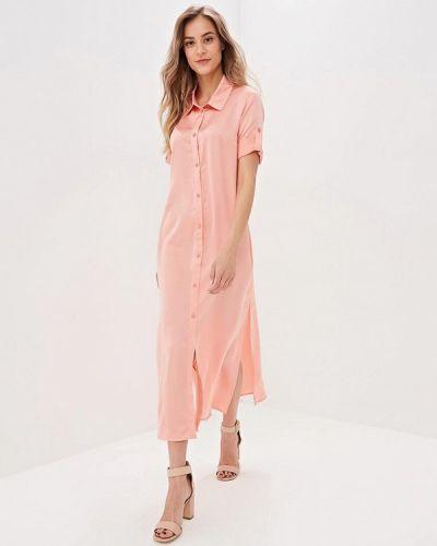 Платье розовое платье-рубашка Trendyangel
