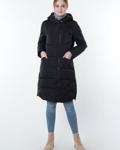 Пуховик-пальто - черный Snowimage