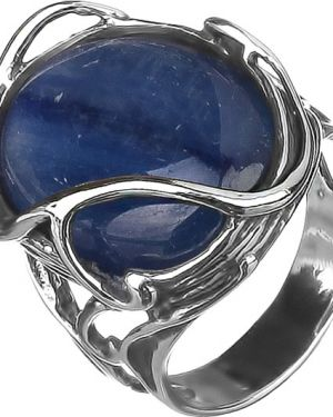Кольцо из серебра серый Den'o