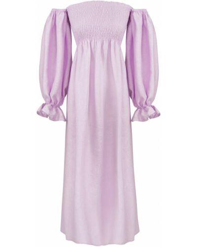 Fioletowa sukienka Sleeper