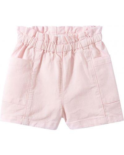 Розовые хлопковые шорты Bonpoint