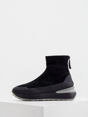 Черные итальянские ботинки Nando Muzi