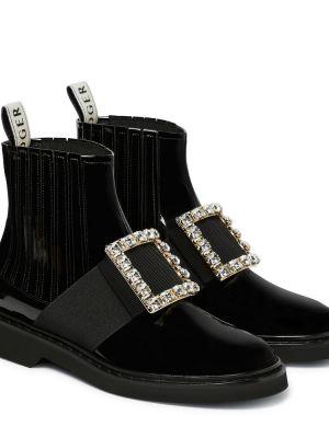 Ботинки челси черные Roger Vivier