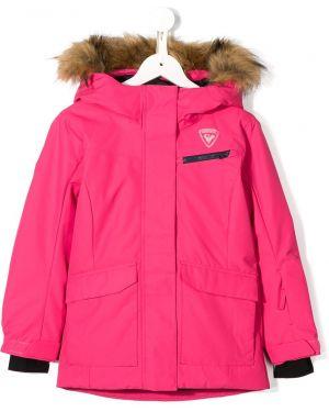 Розовая куртка Rossignol Kids