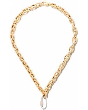 Желтое ожерелье с подвесками As29