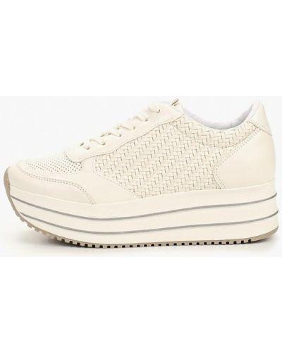 Кроссовки из искусственной кожи белый Bata